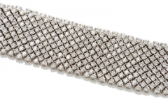 Slinky flexible diamond bracelet - 1148031
