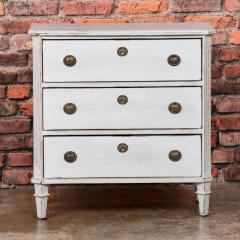 Small Antique Swedish Gustavian Chest of Drawers - 955294