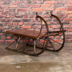Small Antique Swedish Sled Coffee Table - 1058500