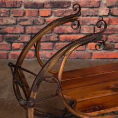 Small Antique Swedish Sled Coffee Table - 1058502