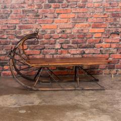 Small Antique Swedish Sled Coffee Table - 1058503