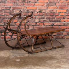 Small Antique Swedish Sled Coffee Table - 1058505