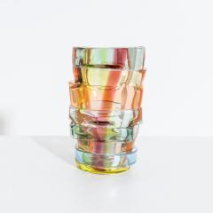 Small Art glass vase by Martin Potsch - 1544429