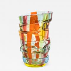 Small Art glass vase by Martin Potsch - 1545219