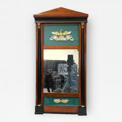 Small Biedermeier Wall Mirror Cherry Solid Wood South Germany circa 1820 - 1734875