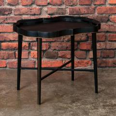 Small Black Painted Swedish Tray Table - 955417