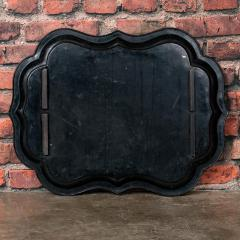 Small Black Painted Swedish Tray Table - 955418