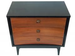Small Black and Wood Dresser - 1855850