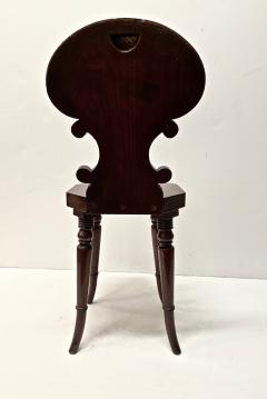 Small English Mahogany Hall Chairs - 1772962