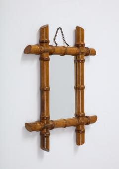 Small Faux Bamboo Mirror - 2060827