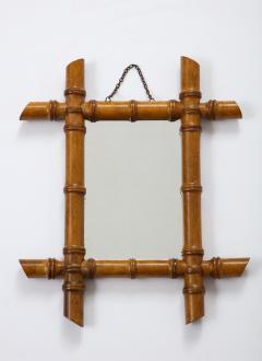 Small Faux Bamboo Mirror - 2060830