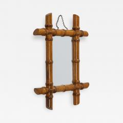 Small Faux Bamboo Mirror - 2064784