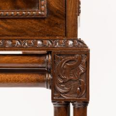 Small Fine quality Georgian style Mahogany Cabinet - 816918