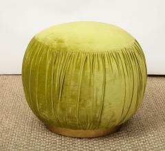 Small Green Pouf - 1314802