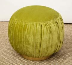 Small Green Pouf - 1314803