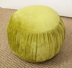 Small Green Pouf - 1314804