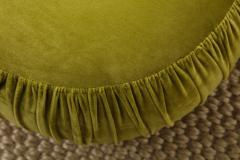 Small Green Pouf - 1314805