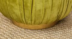 Small Green Pouf - 1314806