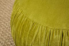 Small Green Pouf - 1314807