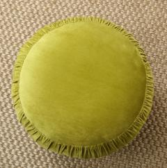 Small Green Pouf - 1314808