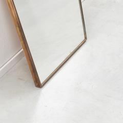 Small Italian brass mirror a Italy 1950s - 1130821