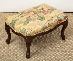 Small Louis XV Style Footstool - 1314827