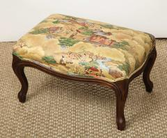 Small Louis XV Style Footstool - 1314828