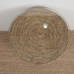 Small Rattan Wrapped Side Table - 1100332