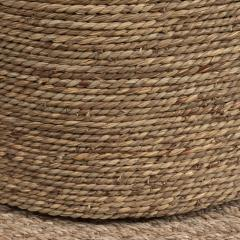 Small Rattan Wrapped Side Table - 1100333
