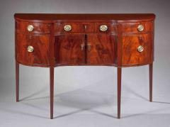 Small Shaped Front Federal Sideboard Mid Atlantic probably Maryland c 1790 - 155853