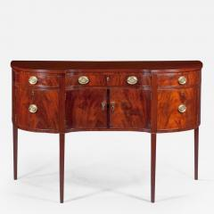 Small Shaped Front Federal Sideboard Mid Atlantic probably Maryland c 1790 - 156123