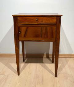 Small furniture Solid Walnut Biedermeier Restauration France circa 1820 - 2129691