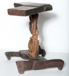 Smokey Tunis Smokey Tunis Handcrafted Tiki Pine Table 1950s - 1726307