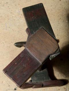 Smokey Tunis Smokey Tunis Handcrafted Tiki Pine Table 1950s - 1726309