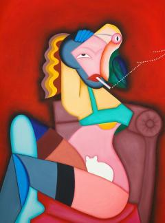 Smoking Lady - 2098051