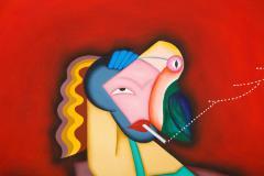Smoking Lady - 2098053