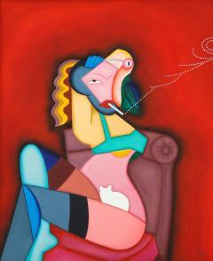 Smoking Lady - 2098305