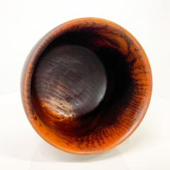 Solid Teak Wood Bowl Made in Sweden Sculptural Danish Scandinavian Modern - 1945079