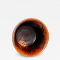 Solid Teak Wood Bowl Made in Sweden Sculptural Danish Scandinavian Modern - 1947211