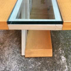 Solid wood coffee table 1980s - 2034959