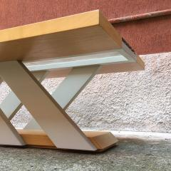 Solid wood coffee table 1980s - 2034991