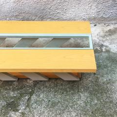 Solid wood coffee table 1980s - 2035019