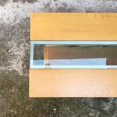 Solid wood coffee table 1980s - 2035020
