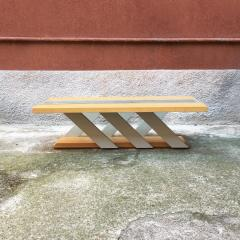 Solid wood coffee table 1980s - 2035024