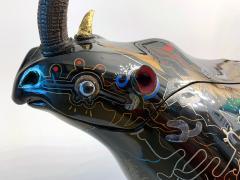 Someya Satoshi Rhino Contemporary Japanese Lacquer Art by Someya Satoshi - 1163022