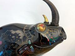 Someya Satoshi Rhino Contemporary Japanese Lacquer Art by Someya Satoshi - 1163026
