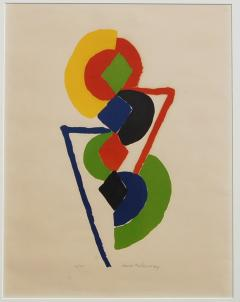 Sonia Delaunay Abstract Geometric Color Lithograph 47 75 - 1207861