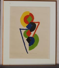 Sonia Delaunay Abstract Geometric Color Lithograph 47 75 - 1207862