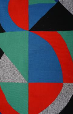 Sonia Delaunay Hand Signed Modern Tapestry by Sonia Delaunay Grande Ic ne - 964153