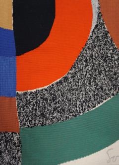 Sonia Delaunay Modern tapestry designed by Sonia Delaunay woven by Pierre Daquin Hippocame - 951698